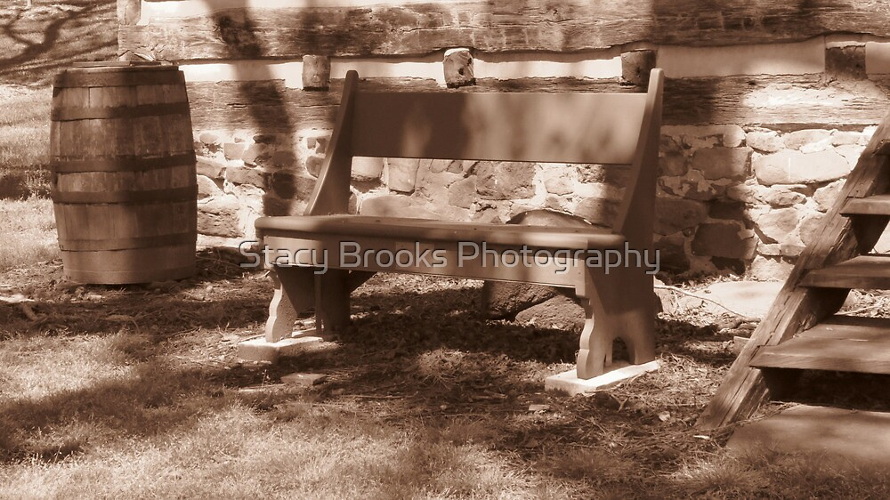 Grandpa's Bench by Stacy Brooks Photography
