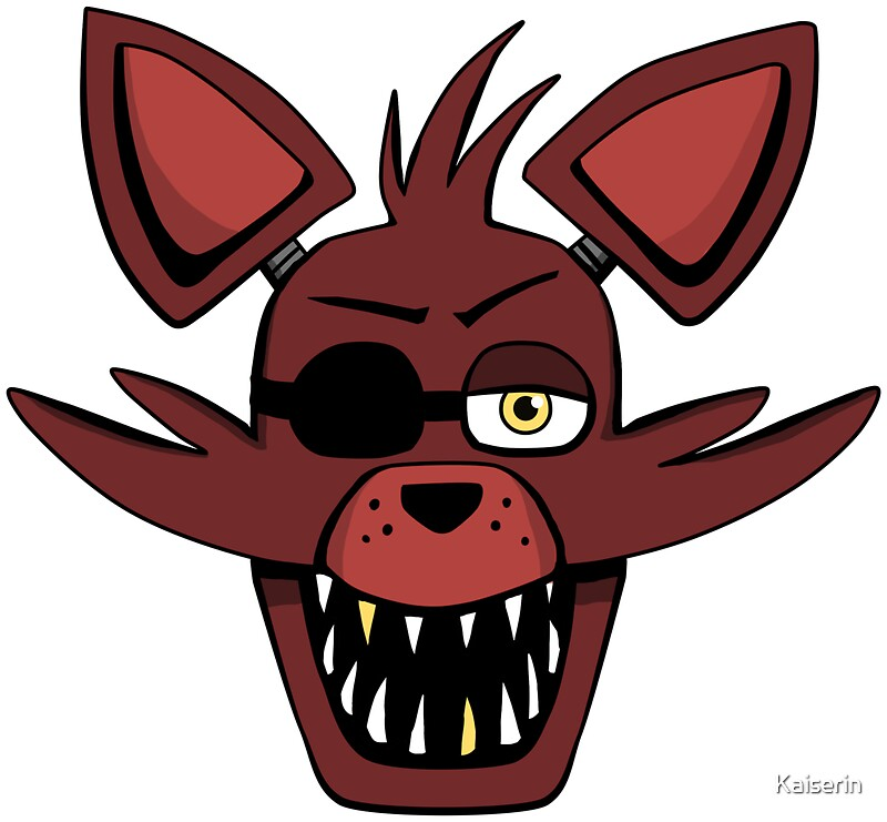 Five nights at freddy s fnaf foxy quot stickers by kaiserin