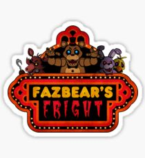 Five Nights at Freddy's - FNAF 3 - Fazbear's Fright Sticker