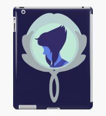 Simplistic Lapis Lazuli in Mirror iPad Case/Skin