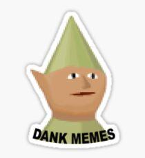 Dank Memes Runescape Gnome Sticker