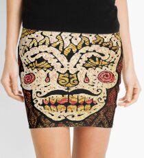 'Sweet Sugar Skull #2' Mini Skirt