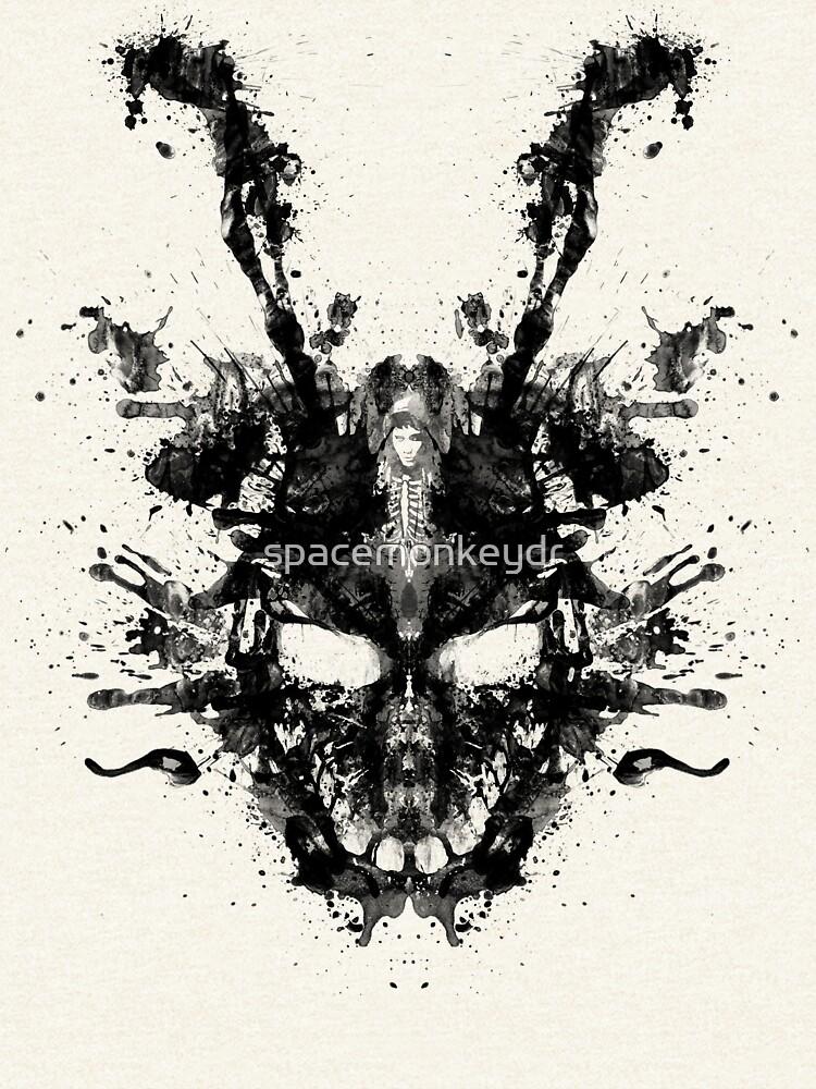 Mancha de tinta imaginaria- Donnie Darko de spacemonkeydr