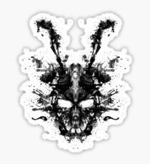 Imaginary Inkblot- Donnie Darko Shirt Sticker