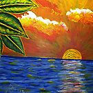Sunset Leafs by Guy Wann