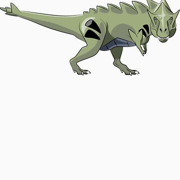 Pokesaurs - Tyranitaurus by trekvix