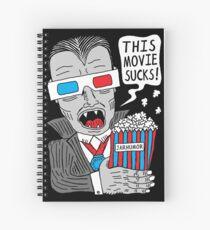 This Movie Sucks Spiral Notebook