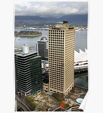 Vancouver City & Harbour, Canada Poster