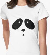 MR. PANDA Women's Fitted T-Shirt