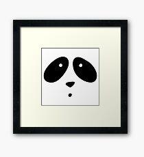MR. PANDA Framed Print