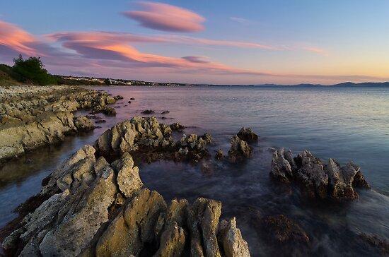 Wild Adriatic coast by Ivan Coric