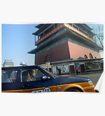 Beijing - Chinese Cab. Poster