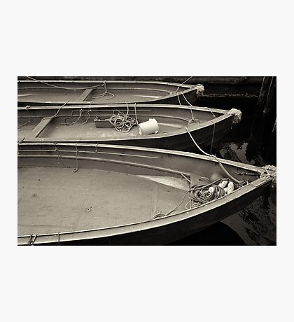 Just Boats  Photographic Print
