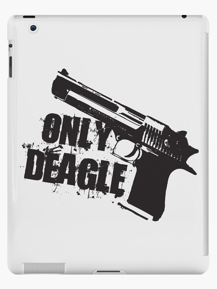 'Only Deagle' iPad Case/Skin by SpaceLake
