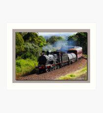 Steam Train Taree nsw Art Print