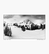 Snowbasin Photographic Print