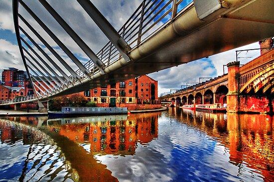 Castlefield Junction Manchester by inkedsandra