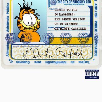ODB X Garfield by philmart