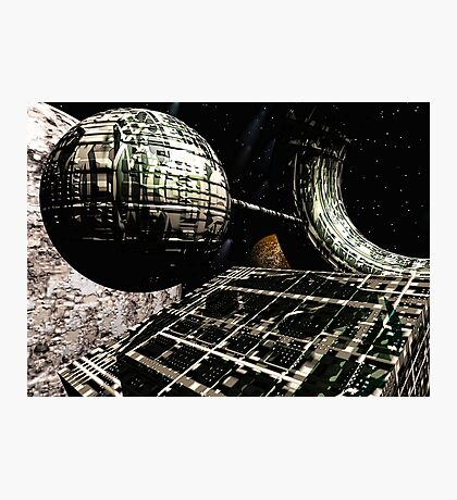 The Flight Across the Three Universes #1 - Flying Cities Photographic Print