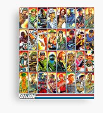 G.I. Joe in the 80s! Canvas Print