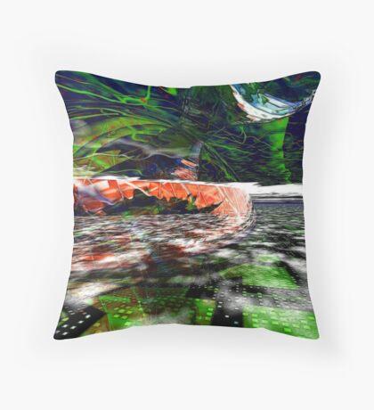 The Flight Across the Three Universes #6 - Worlds Apart Throw Pillow