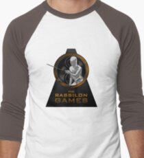The Rassilon Games (Timescoop Variant) Men's Baseball ¾ T-Shirt