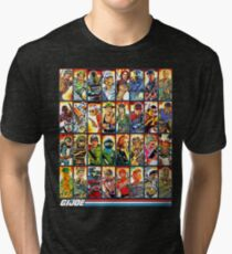 G.I. Joe in the 80s! Tri-blend T-Shirt