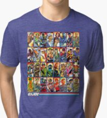 G.I. Joe in the 80s! Tri-blend T-Shirt