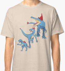 Pokesaurs - Totodilian Evolution Classic T-Shirt