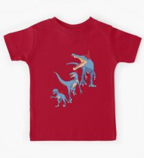 Pokesaurs - Totodilian Evolution Kids Clothes