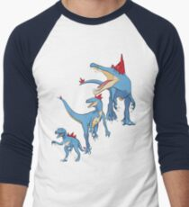 Pokesaurs - Totodilian Evolution Men's Baseball ¾ T-Shirt