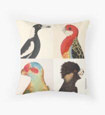Australian birds Throw Pillow