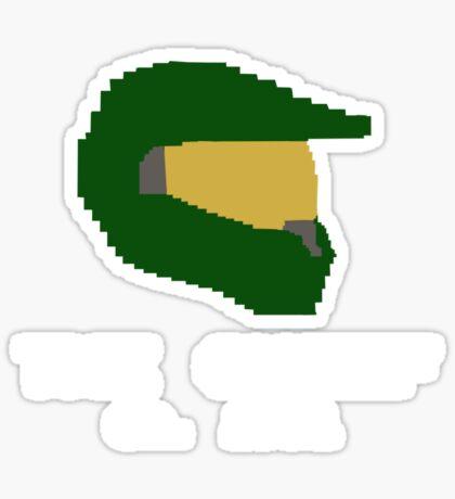 8 Bit Masterchief Sticker