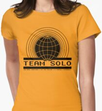 TEAM SOLO Womens Fitted T-Shirt