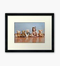 Teddy bear's Framed Print