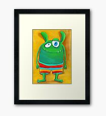 Mrs. Monster Framed Print