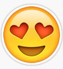 Emoji Heart Eyes Sticker