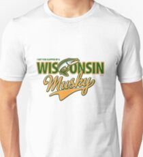 I got fish slapped by a Wisconsin Musky! T-Shirt