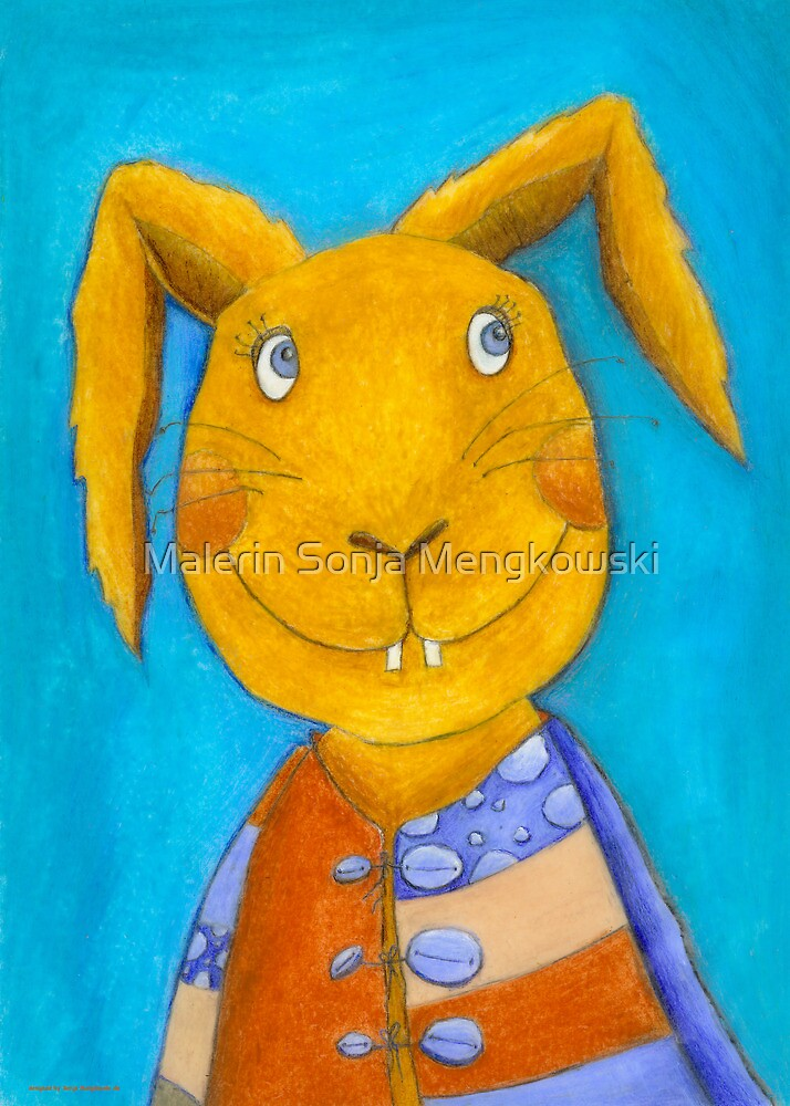 Mr. Rabbit  by Malerin Sonja Mengkowski
