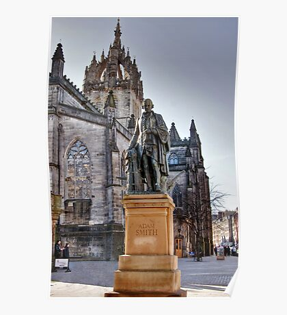 Adam Smith & St Giles Cathedral Poster
