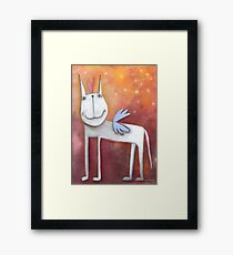 Angel Horse Framed Print