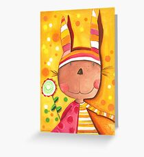 Baby Bunny Greeting Card