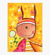 Baby Bunny Photographic Print