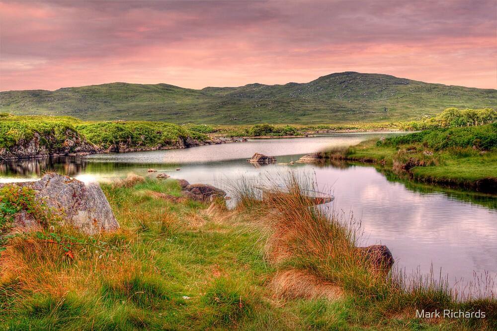 Green Hills of Ireland - The Connemara, Co. Galway, Ireland by Mark Richards