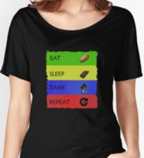ARK EAT SLEEP TAME REPEAT Women's Relaxed Fit T-Shirt