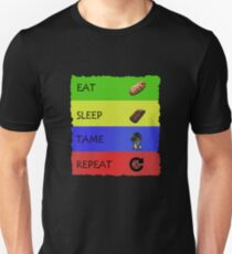 ARK Survival evolved -  EAT SLEEP TAME REPEAT Unisex T-Shirt