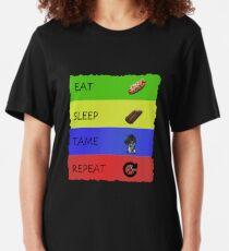 ARK Survival evolved -  EAT SLEEP TAME REPEAT Slim Fit T-Shirt