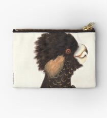 Yellow-tailed Black Cockatoo Studio Pouch