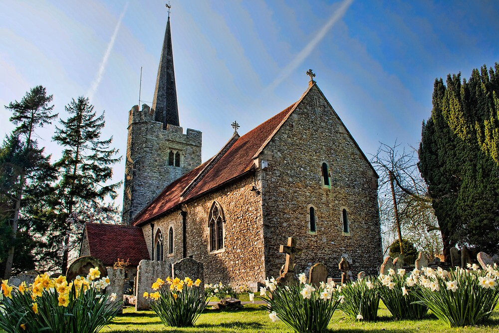 St Margarets Church, Barming by Dave Godden