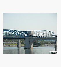 Walnut Street Bridge Photographic Print